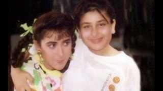 Kareena kapoors Childhood Images