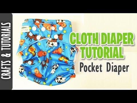 How to Sew a Cloth Diaper (Pocket Diaper Tutorial)