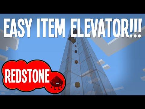 Minecraft - Simple Item Elevator