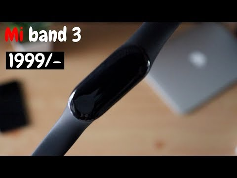 MI band 3 India bought from amazon | GIVEAWAY??