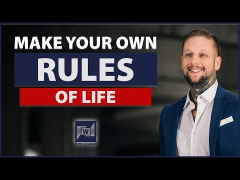 How To Make Your Own Rules Of Life