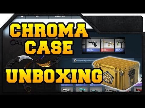 cs go chroma case unboxing new knife skins getplaypk