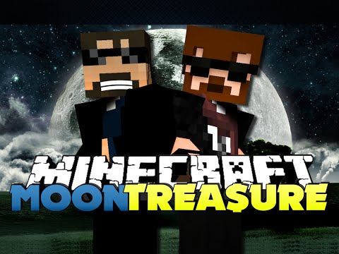 Minecraft Modded Moon Challenge 1 - THE TREASURE WILL BE MINE