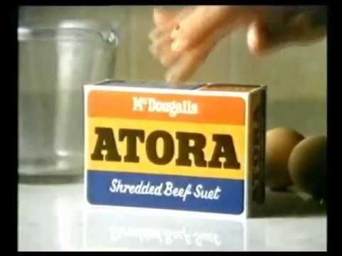 Atora Suet advert - 1983