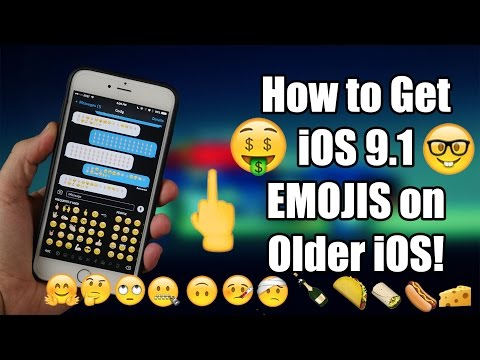 How to get NEW iOS 9.1 Emojis on your iPhone! 100% WORKING!