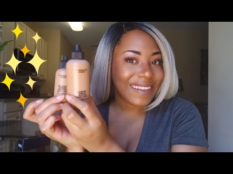 Foundation Review & Demo: MAC Face and Body| WOC Friendly