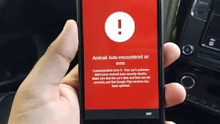 ANDROID AUTO AA MIRROR 2018 Mirror Screen App