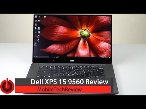 Dell XPS 15 9560 (Kaby Lake, GTX 1050) Review
