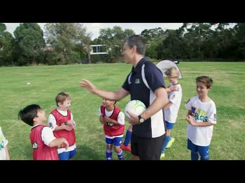 NAB Skills Series Session 5: How to coach kids football training