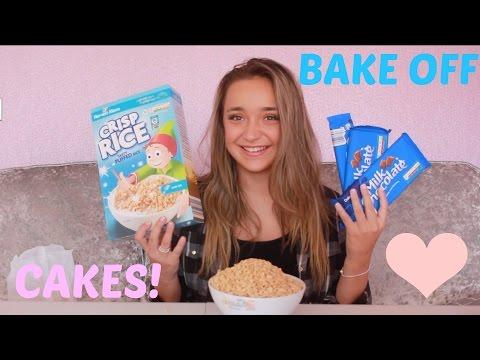 How To: Bake The Perfect Rice Crispy Cakes | Lauren Platt