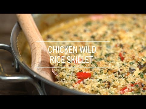 Chicken Wild Rice Skillet
