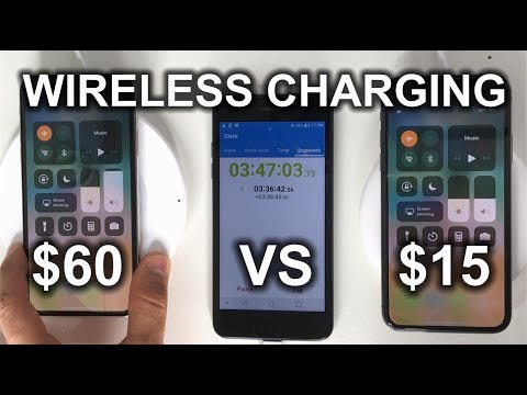 $15 Amazon Wireless charger VS $60 Belkin BOOST Up Wireless charger