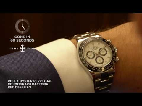 GONE IN 60 SECONDS - Rolex Oyster Perpetual Cosmograph Daytona