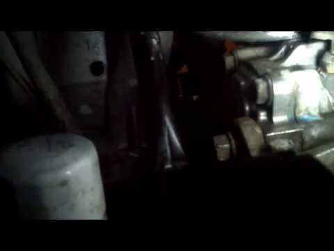 How to change the belts on a 2001 Nissan Sentra