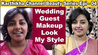 Download Wedding guest makeup look in tamil / foundation makeup in my style / beauty series part 4 Video