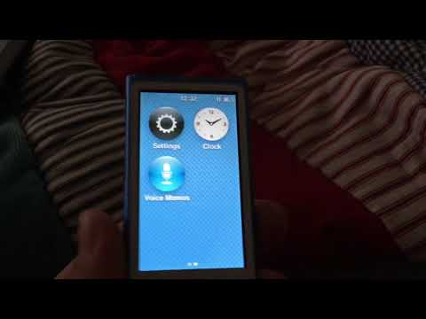 How to get the voice memos app on iPod Nano 7th gen.