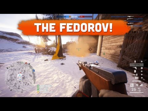 THE FEDOROV KICKS ASS! - Battlefield 1 | Road to Max Rank #105 (In the Name of the Tsar DLC)