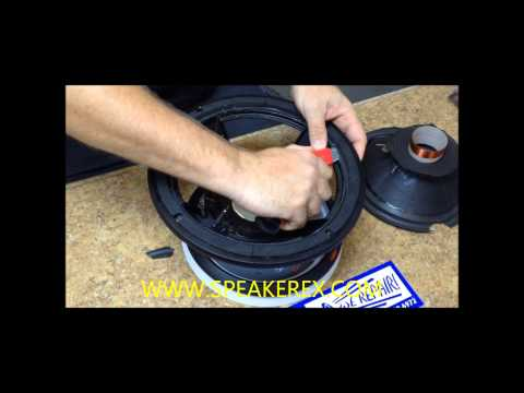 How to Clean a Speaker for Recone