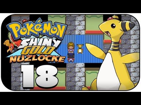 Das Kranke Ampharos! - Pokémon Shiny Gold X Nuzlocke Challenge #18