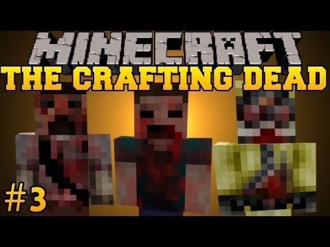 Minecraft: The Crafting Dead - Let's Play - Part 3 (The Walking Dead/DayZ Mod)
