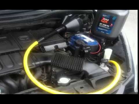 How to Change Transmission Fluid MAZDA 2  🚘
