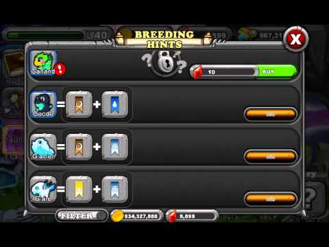 How to breed GARLAND DRAGON on dragonvale