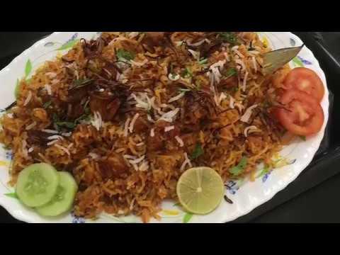 Kerala style Prawns Biryani