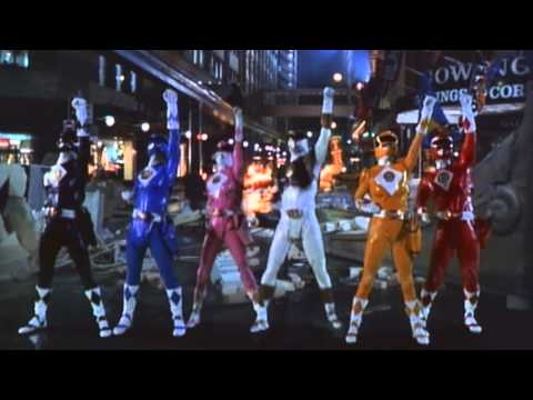 Power Rangers: The Movie Intro