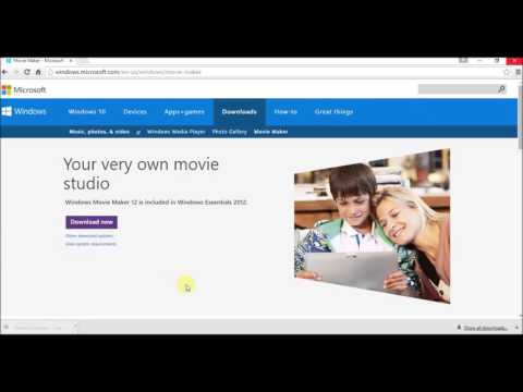 How TO Download Movie Maker For Windows 10