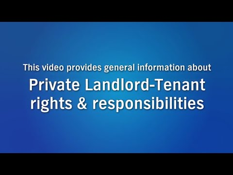 Landlord-Tenant Basics