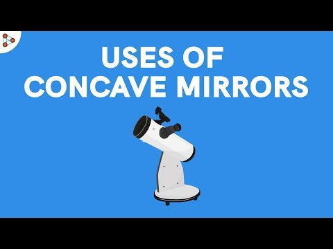 Uses of Concave Mirrors - CBSE 10