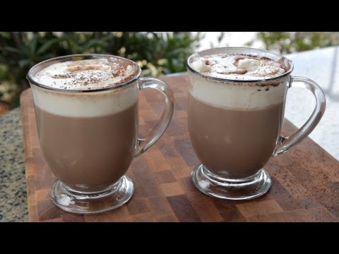 How to make Homemade Baileys Hot Chocolate Drink Recipe