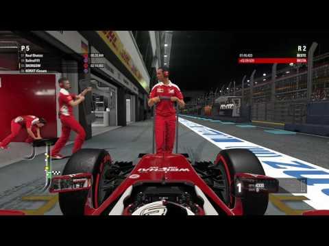 F1 2016 - Qualifying BOX Wait for Teammate Singapore (xbox one)