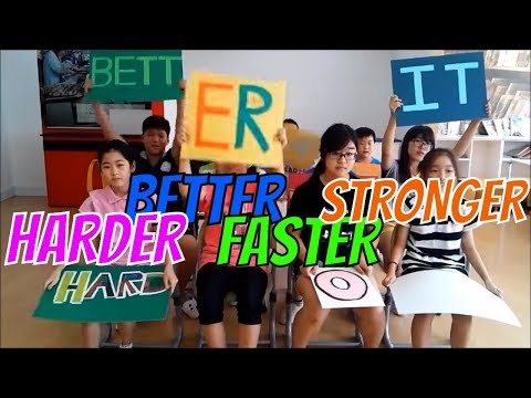 Harder Better Faster Stronger by Daft Punk Performed By Korean Elementary Kids
