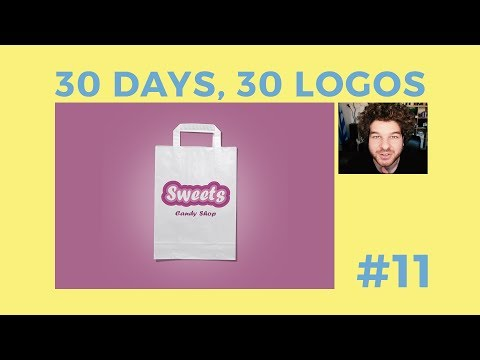 30 Days, 30 Logos #11 - Sweets