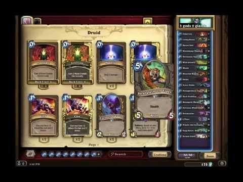 Hearthstone: How to Build Awesome Competitive Decks