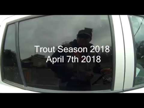 Trout Season Opening Day, NJ. No fish were caught in the making of this video.