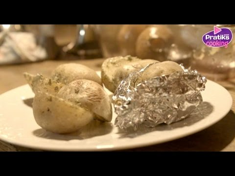 Cooking : How to cook potatoes in foil