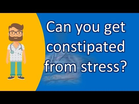 Can you get constipated from stress ? | Better Health Channel