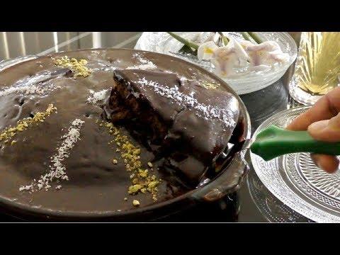 Simple Moist Chocolate Cake - کیک چاکلت