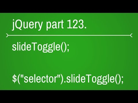 jquery slide toggle function - part 123