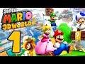 Let S Play Super Mario 3d World Part 1 Abenteuer Im Feenland