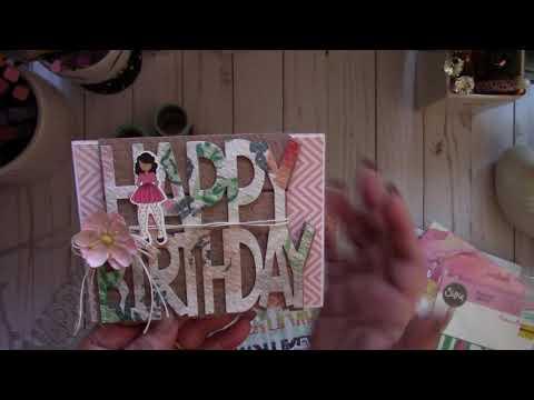 Happy Birthday Drop-Ins Cards