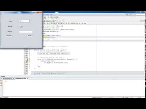 Java Swing Tutorial 2 - Displaying Result in Label or TextField using NetBeans IDE