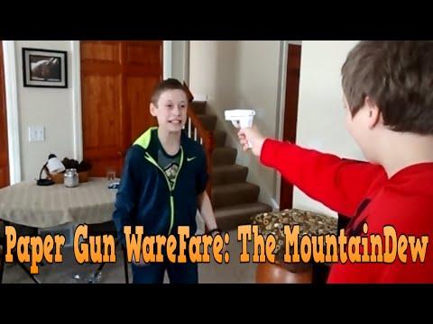 Paper Gun Warfare: The MountainDew