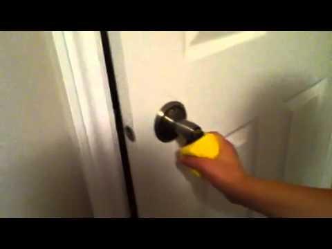 How to open a door with Pacman
