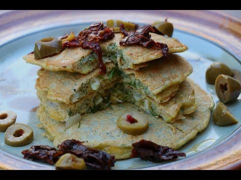 savoury protein pancake