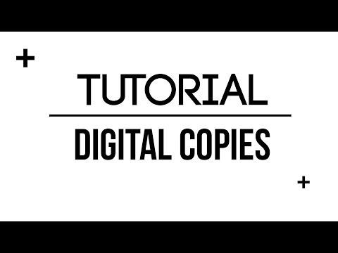 Tutorial | Digital Copies of DVD's