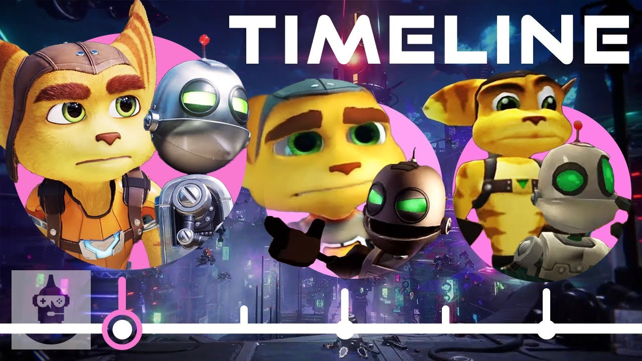 The Complete Ratchet and Clank Timeline   The Leaderboard