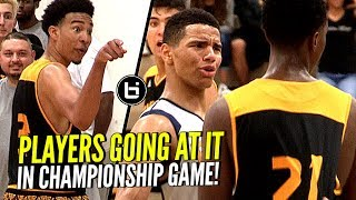 Matt Bradley GOES AT Compton Magic!! Players Talkin That SH** In HEATED Championship Game!!